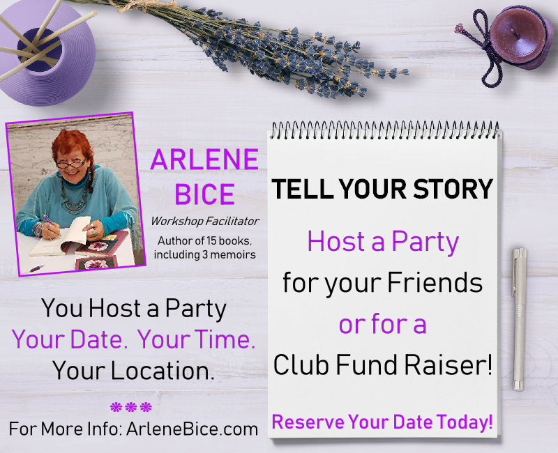 Arlene Bice Tell Your Story